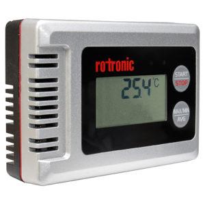 HygroLog Temperature Data Logger Front Angle