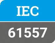 IEC 61557 label