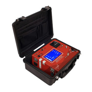 Portable SF6 analyser monitoring the quality of SF6 in MV & HV gas insulated electrical equipment.
